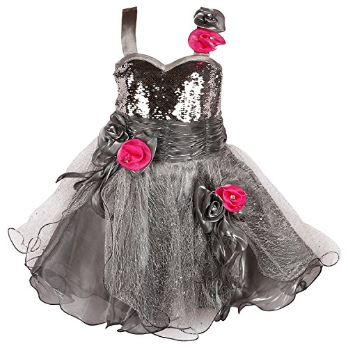 Wish Karo Party wear Baby Girls Frock Dress DN1004 -5-6 Yrs