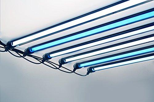 iQuatics Aqualumi Aquarium Controller- Two Tube-24w T5 Fluorescent Controller-MADE IN THE UK