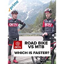 Road Bike Vs MTB - Which Is Harder? [OV]