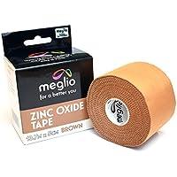 Meglio Sporttape Zinkoxid-Tape – ideal für die Vermeidung von Sportverletzungen und die Unterstützung von Muskelrehabilitation... preisvergleich bei billige-tabletten.eu