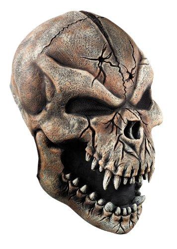 Halloween maschera di teschio lupo mannaro