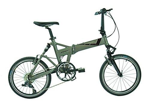 Dahon Jetstream D8–Bicicleta Plegable para Adulto, Quarry Gris, Talla 20