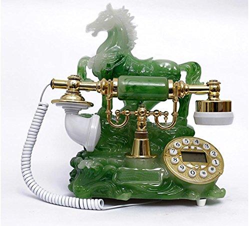 JinRou Contemporanea/antico telefono Vintage classica europea home office telefono fisso in (High End Telefoni Cordless)