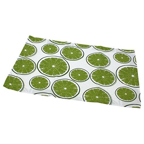 (Tischset LIMES - Platzset mit Limonenmotiv - grün - Limette - Tischdeckchen)