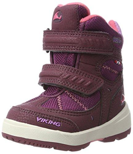 viking Unisex-Kinder Toasty II Bootsportschuhe, Pink (Plum/Coral), 27 EU