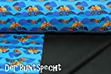Softshell Monster Trucks, blau