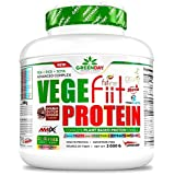 Amix Greenday vegefiit Protein 2kg–Saveur–cacahuete-choco-caramelo