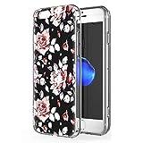 Zhuofan Plus Coque Apple iPhone 8 Plus, Silicone Transparente avec Motif Design...