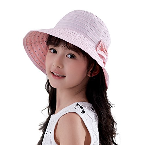 SiggiHat Child Bucket Sun Hat fo...