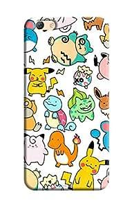 Tecozo Designer Printed Back Cover / Hard Case for Oppo F3 Plus (Cute cartoons Design/ Comics & Cartoons)