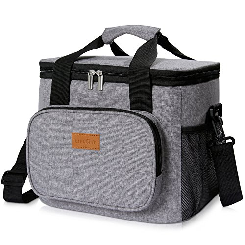 Lifewit 15L (24 Canette) Sac Isotherme Lunch Bag,...