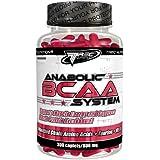 Anabolic BCAA 300 Comprimés - Acides Aminés Ramifiés + Taurine +Vitamine B6 - Pour Freiner le Catabolisme Musculaire