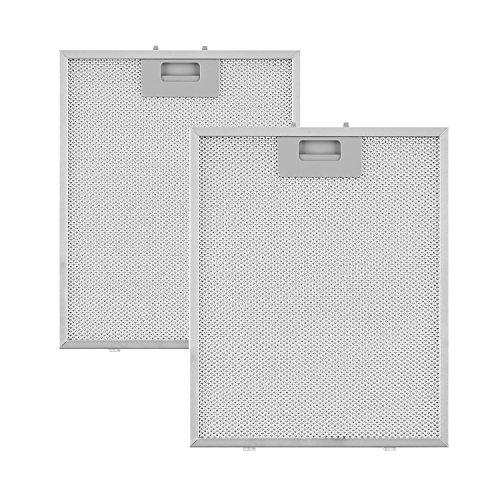 Klarstein Sabia filtro anti grasa aluminio reemplazo accesorio campana extractora 23,8 x...