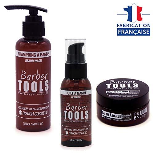✮ BARBER TOOLS ✮ Kit/Bartpflege set/Bart-set/Bart und Rasur | Kosmetik Made in French