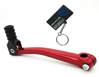Xlyze C/âble d/'embrayage moto pour 50/cc 70/cc 90/cc 110/cc 125/cc 140/cc 150/cc 160/cc rouge