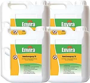 ENVIRA Spray gegen Ameisen 4x5Ltr