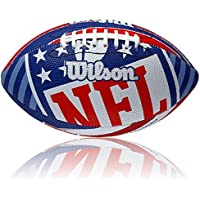 Wilson Football NFL Logo, Royal/Weiss, Junior, WL0206203140