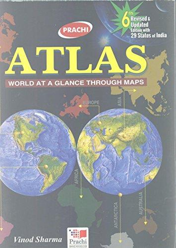 ATLAS WORLD AT A GLANCE THROUGH NAPS