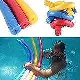 Nouilles souples de piscine de mousse colorée natation nouilles de Woggle d'aide de flottement d'eau de flottement...