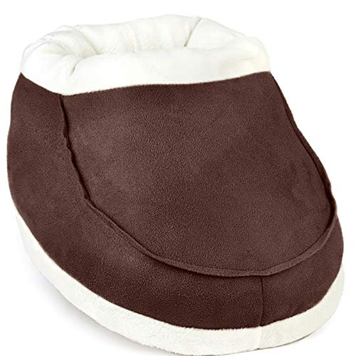 Calentador de pies, sin electricidad, ayuda a la mala circulación de pies y artritis (Chocolate)