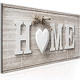 murando - Home Impression sur Toile intissee 120x40 cm Tableau Tableaux Decoration Murale Photo Image Artistique Photographie graphique1 Piece Abstrait Home m-A-0686-b-a