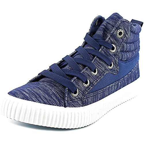 Blowfish Crawler Femmes Toile Baskets Indigo Hoboken Jersey