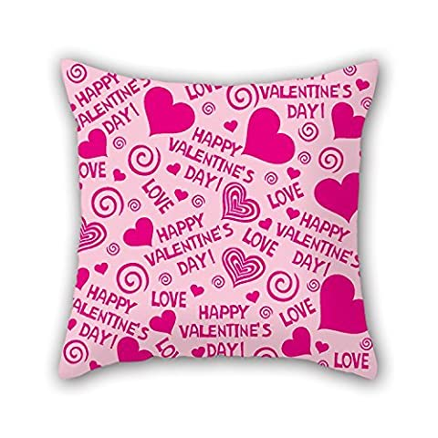 PaPaver Love Throw Christmas Pillow Covers 20 X 20 Inches