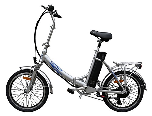 20 Zoll SWEMO Alu Klapp E-Bike / Pedelec SW200 Modell 2016 Neu (Silber)