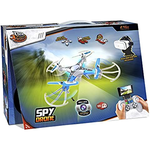 World Brands - Spy, drone con gafas 3D (XT280708)