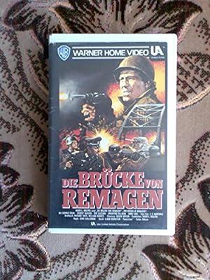 Die Brücke von Remagen [VHS]