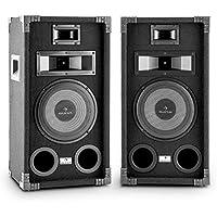 Auna JO2 PA Fullrange Haut-parleurs PA (2X 800 Watt Max)