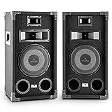 Auna PA-800 Coppia di altoparlanti 2 casse audio passive (400W, woofer 20 cm, 3 vie, diffusori full-range, Bass Reflex) - Auna - amazon.it
