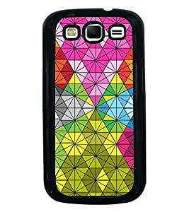 Fiobs Designer Back Case Cover for Samsung Galaxy S3 Neo I9300I :: Samsung I9300I Galaxy S3 Neo :: Samsung Galaxy S Iii Neo+ I9300I :: Samsung Galaxy S3 Neo Plus (jaipur rajasthan african america cross pattern)