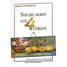 Nature morte aux quatre citrons