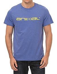 Animal Men's Logo Graphic T-Shirt, Blue