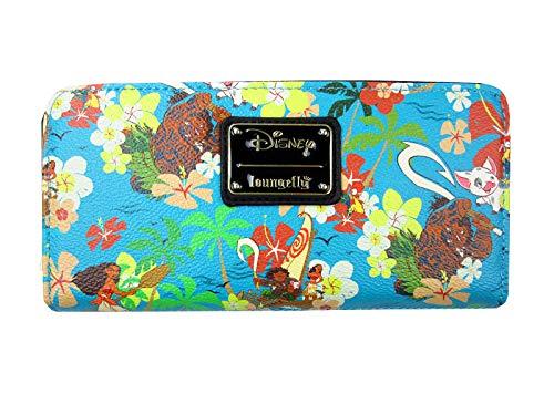 Loungefly Disney's Moana Geldbörse mit durchgehendem Reißverschluss