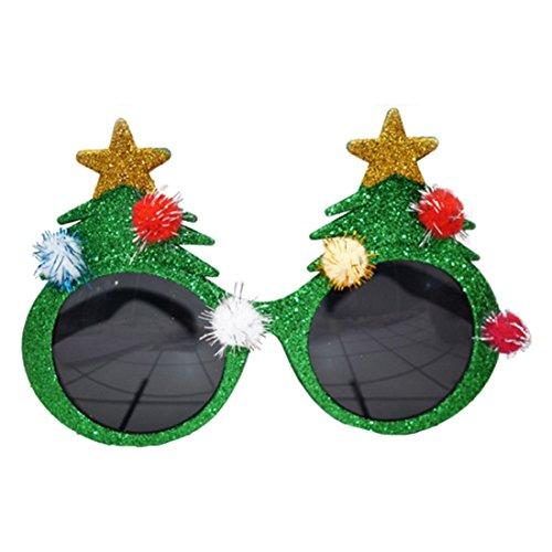 TOOGOO(R) Weihnachten Sonnenbrille lustige Festliche Geheimnis Weihnachtsmann Geschenke