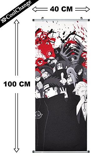 CoolChange Kakemono/Poster de la Serie Naruto, Tema:...