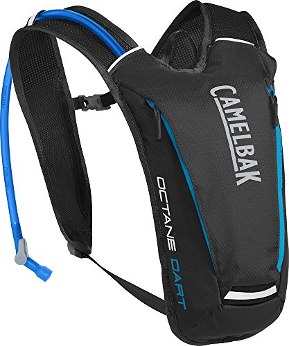 CamelBak Products LLC Octane Dart Hydration Pack Trinkrucksack, Black/Atomic Blue, 50 oz