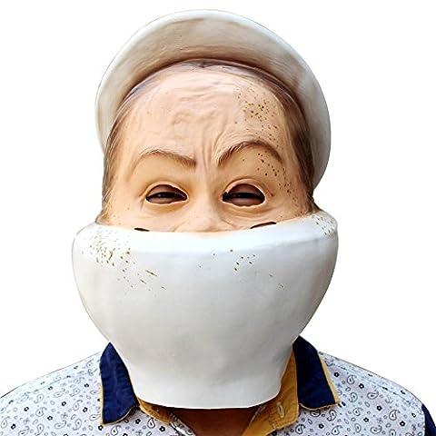SQCOOL Halloween Toilette Masken Christmas Ball Party Spiele lustige Neuheit Caps High Quality (Schwarze Katzen-kostüm Diy)