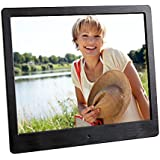 Intenso Media Designer Digitaler Bilderrahmen (24,6 cm (9,7 Zoll), TFT-Farbdisplay, SD, SDHC, MMC Slot, Video-Function, Fernbedienung) schwarz