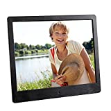 Intenso Media Designer Digitaler Bilderrahmen (24,6 cm (9,7 Zoll), TFT-Farbdisplay, SD, SDHC, MMC Slot, Video-Function, Fernbedienung) schwarz Bild