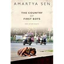 The Country of First Boys And Other Essays by Amartya Sen (2015-10-01)