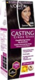 L'Oreal Paris Casting Creme Gloss Shade, Darkest Brown, 21g+24ml