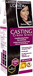 Loreal Paris Casting Creme Gloss Shade, Darkest Brown, 21g+24ml
