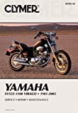 Clymer Yamaha Section One: XV700-1100 Virago 1981-1999, Section Two: XV535 Virago 1987-2003 (Clymer Motorcycle Repair)