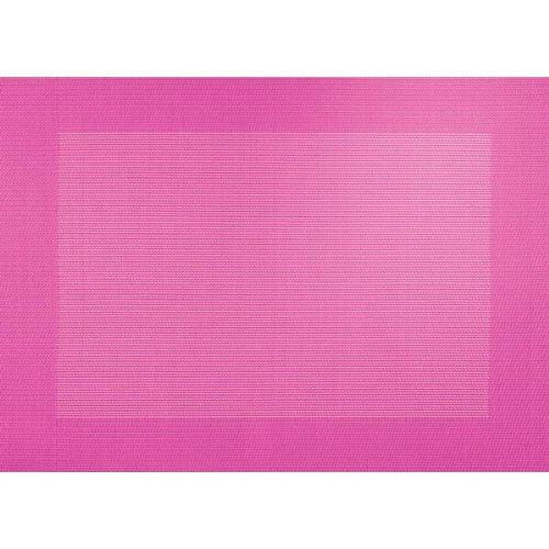 Tischset - pink - mit gewebtem