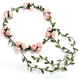 Akord Boho Rose Haarband Garland Blume Floral