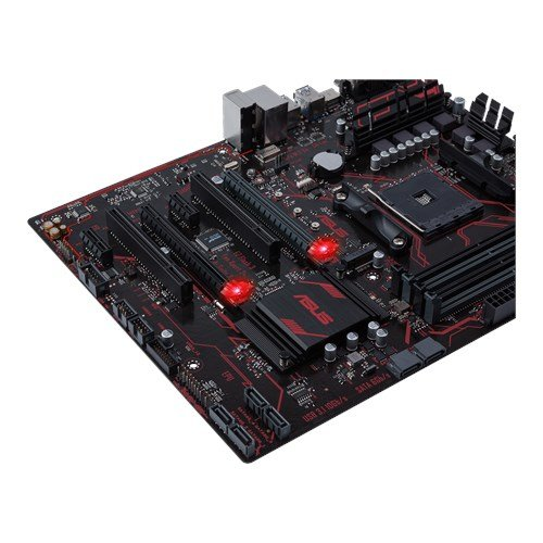 Asus Prime B350-PLUS Mainboard Sockel AM4 (ATX, AMD B350, Ryzen, 4x DDR4 Speicher, 4x SATA 6Gb/s) - 4