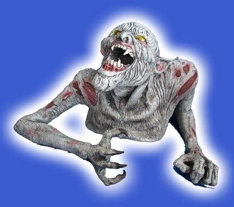 Inc Halloween Kostüme Monsters (Horror Latex Zombie XXL Riesen Halloween Film Monster Geisterbahn Qualität Super schwere und robuste Profiware Halloween)